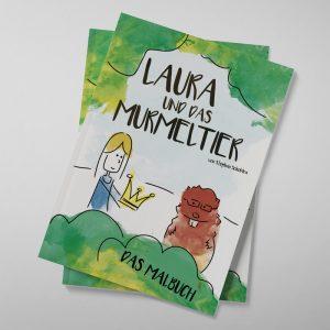 LAURA UND DAS MURMELTIER - DAS MALBUCH